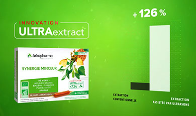 Arkofluides®, ULTRAextract® synerie minceur
