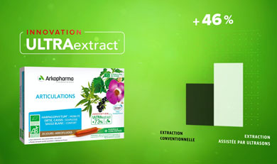 Arkofluides®, ULTRAextract® articulations