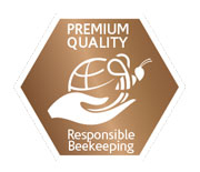 responsible beekeeping label