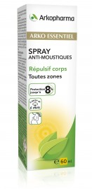 Spray corps anti-moustiques