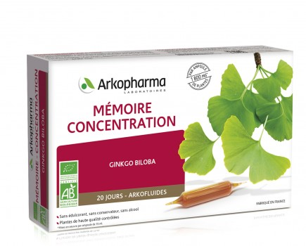 Arkofluids® Memory – Concentration