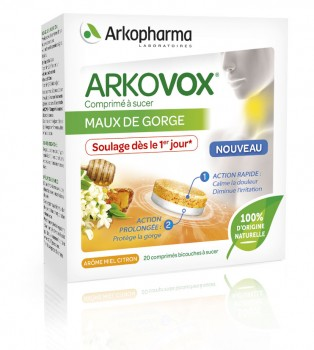 Arkovox® Bilayer Tablets