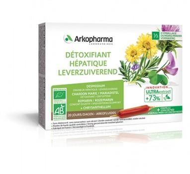 detoxifiant hépatique arkopharma înlăturarea verucilor plantare clinice