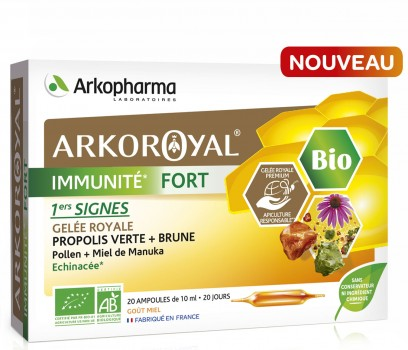 Arkoroyal® Immunité fort BIO New