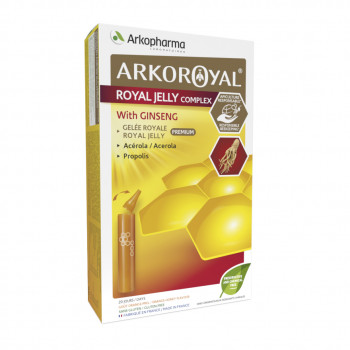 Arkoroyal® Royal Jelly complex with Ginseng