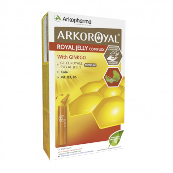 Arkoroyal®  Royal Jelly complex with Ginkgo