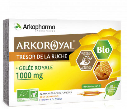 Arkoroyal® Organic Royal Jelly 1000 mg