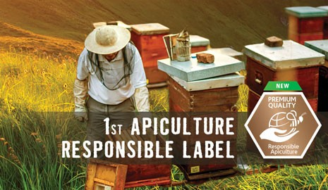 First responsible apiculture label