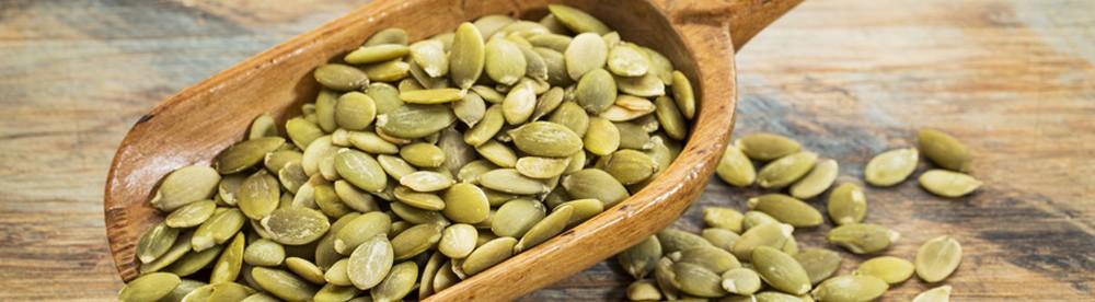 menú de semillas de calabaza de próstata