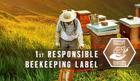 First responsible beekeeping label