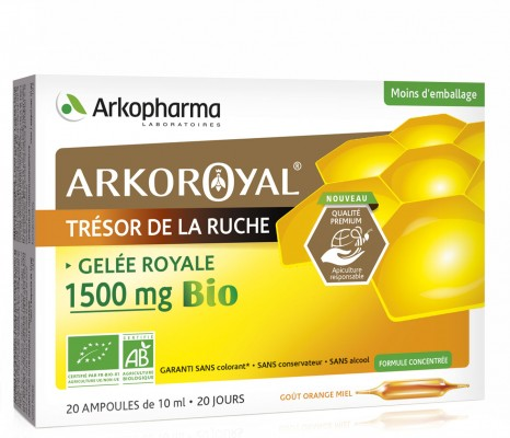 ARKOROYAL Gelée Royale 1500 mg Bio