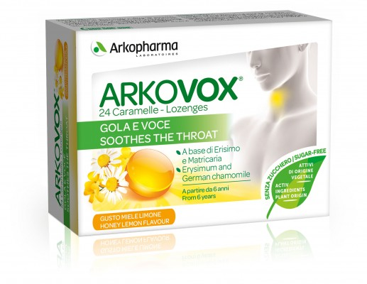 Activox® Lozenges, Honey Lemon flavor