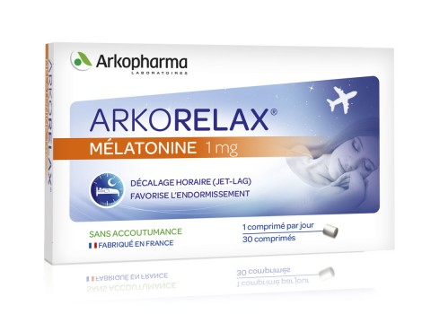 Arkorelax® Mélatonine 1 mg