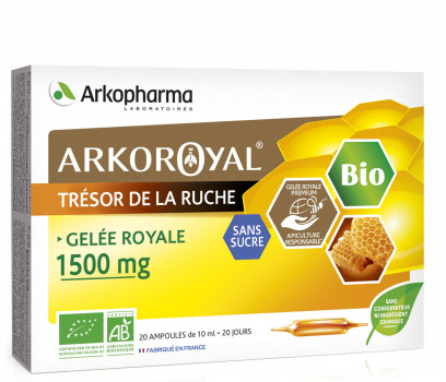 Arkoroyal® Royal Jelly 1500 mg BIO