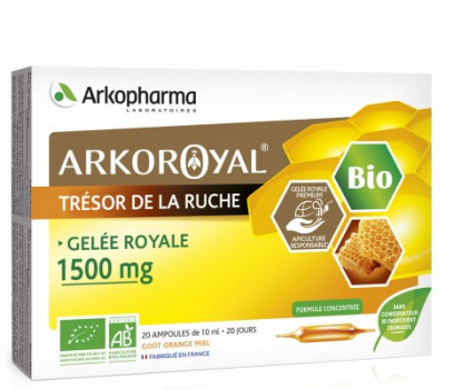 Arkoroyal® Gelée Royale BIO 1500 mg